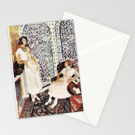 Henri Matisse - Moorish Screen - Exhibition Poster Stationery Cards