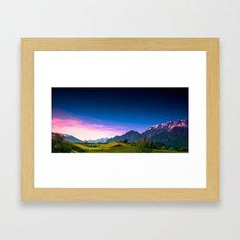 Sunset Hills Framed Art Print