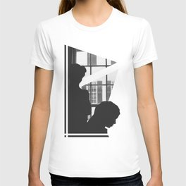 Silhouettes In Window T-shirt