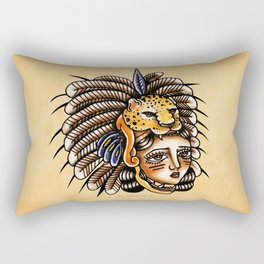 Conchera Jaguar Rectangular Pillow