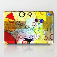 kandinsky iPad Cases featuring Without incident by Kay Weber