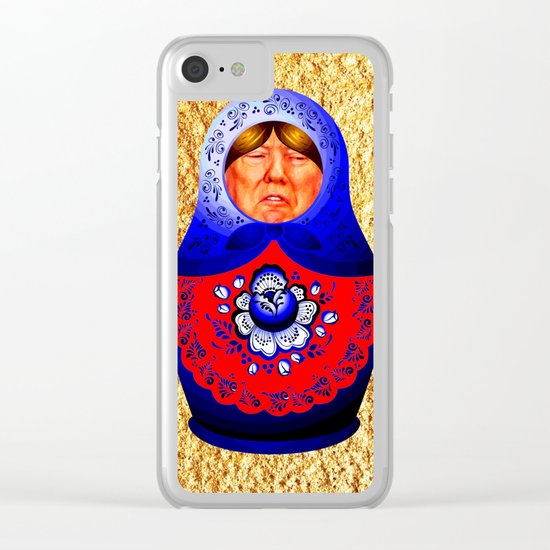 Trampbushka   Funny   Comedy Clear iPhone Case