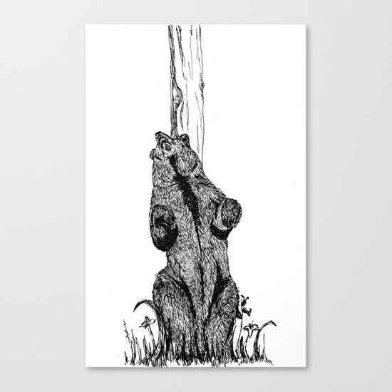 Dance, you sexy beast Canvas Print