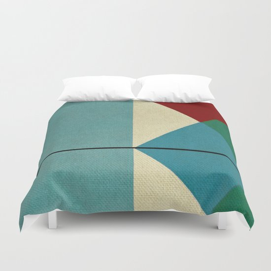 Geometric Thoughts 1 Duvet Cover