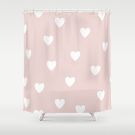 Heart Patter - Baby Pattern Shower Curtain