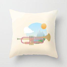 Summer Ballad Throw Pillow