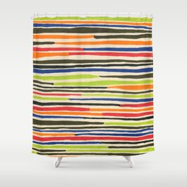 Moroccan rug Shower Curtain