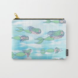 Mermaid migration Carry-All Pouch