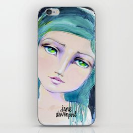 Dreamer by Jane Davenport iPhone Skin