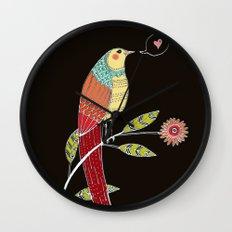 l'amour est dans l'air Wall Clock