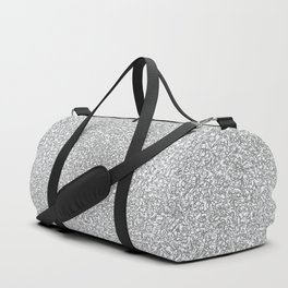 strings, black and white 2 Duffle Bag