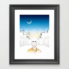 In Search of Other Sunrises Framed Art Print