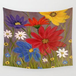Wildflower-2 Wall Tapestry