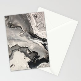 Infiltration Marble Stationery Cards