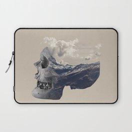 Mountain Skull Face Laptop Sleeve