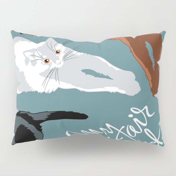 What color is my Cat? Pillow Sham
