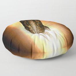 Moya Farscape (TV Show) living alien ship Leviathan Floor Pillow