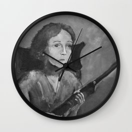 Loretta. Wall Clock