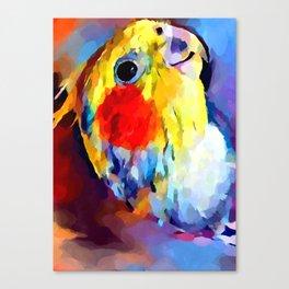 Cockatiel 2 Canvas Print