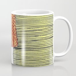 The girl in the dress. Coffee Mug