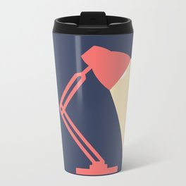 #14 Lamp Metal Travel Mug