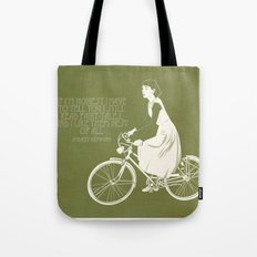 Audrey always knows what to say. Tote Bag
