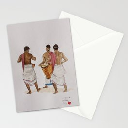 drum players in Allephey Stationery Cards
