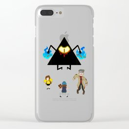 """""""Your Move, Pine Tree"""" Clear iPhone Case"""