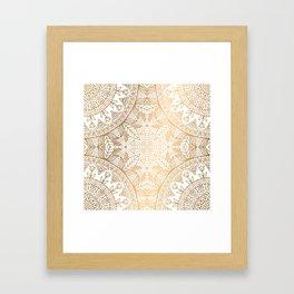 INDIAN SARI Framed Art Print