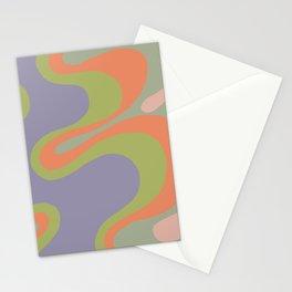 Popart pattern, modern, minimal, playful  Stationery Cards