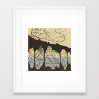 hawaiian Framed Art Prints featuring first hawaiian by thefleafarm (Amy Wright)