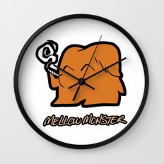 Mellow Monster Wall Clock