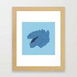 Godzilla 1998 Framed Art Print