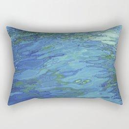 Effervescent Waves 1 Rectangular Pillow