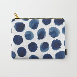 Watercolor polka dots Carry-All Pouch