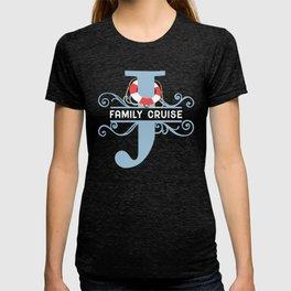 Family Cruise J T-shirt