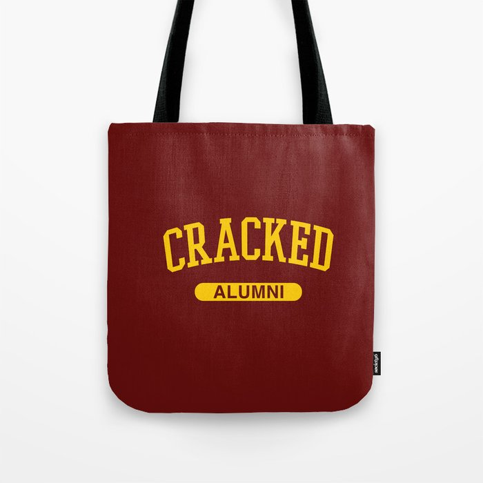 Cracked Alumni Tote Bag