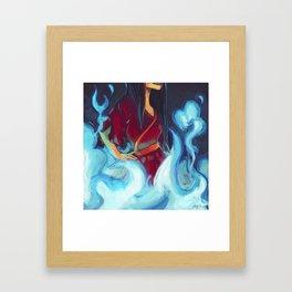 azula Framed Art Print