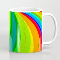 pride Mugs featuring Pride by Vix Edwards - Fugly Manor Art