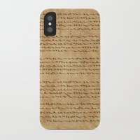 bible verses iPhone & iPod Cases featuring Asemic Script Verses by Lestaret