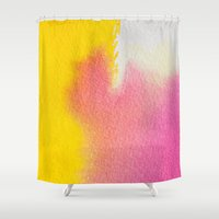 literature Shower Curtains featuring Literature of Love #society6 by 83 Oranges™