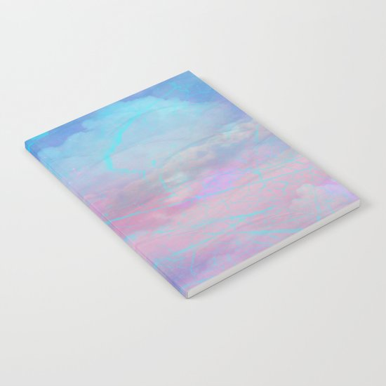 Marble Sky Abstract Notebook