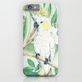 Saffron Cockatoo iPhone Case