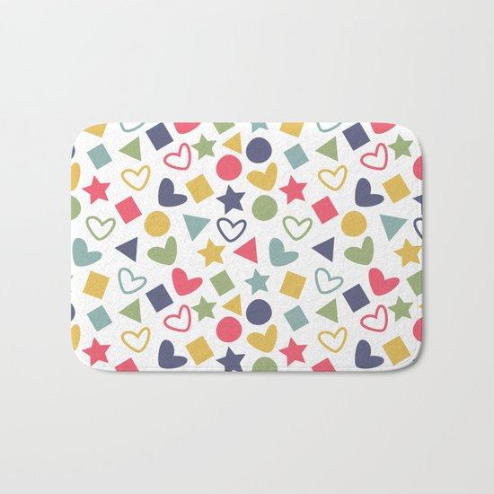 Colorful Lovely Pattern Bath Mat
