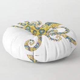 Blue Ringed Octopus dance Floor Pillow