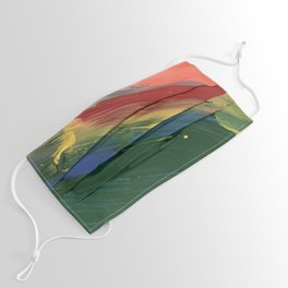 Rainbow Junk mail Face Mask