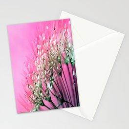 Pink Diamond Dew Stationery Cards