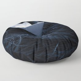 On troubled waters Floor Pillow