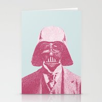 darth Stationery Cards featuring Darth Vader by NJ-Illustrations