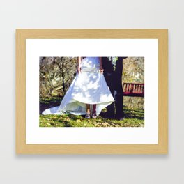 Shoes. Framed Art Print